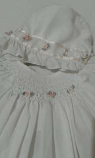Petit Ami embroidered dress set