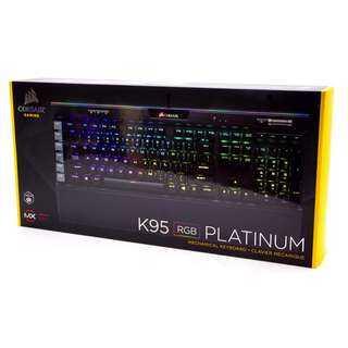 Corsair Gaming K95 RGB Platinum Mechanical Keyboard (BNIB)