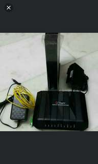 Singtel Singnet Optical Network Terminal / and + Dual-band Wireless Wifi Voice-enabled Modem