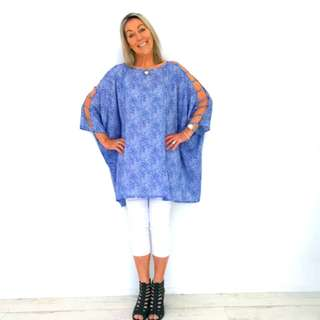 Blue You Kaftan
