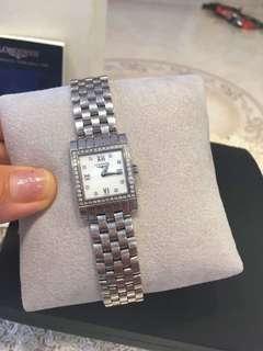 浪琴女士钻石镶嵌腕表⌚️