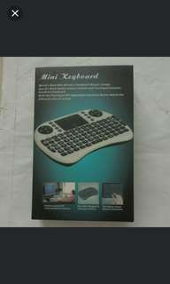 Mini Wireless Keyboard Mouse Combo / Multimedia remote control and touchpad
