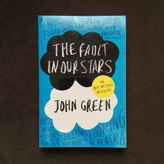 BOOKS FOR SALE (The Fault In Our Stars)