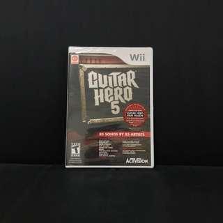 Wii Guitar Hero 5