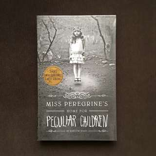 BOOKS FOR SALE (Miss Peregrine's Home For Peculiar Children)