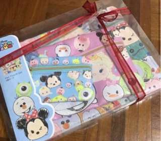 Tsum Tsum 3 in 1 Pouch Set