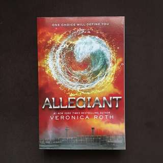 BOOKS FOR SALE (Allegiant)