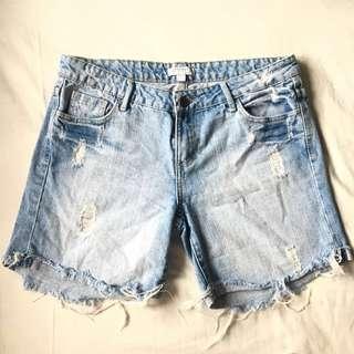 Cotton-On ripped Denim Shorts