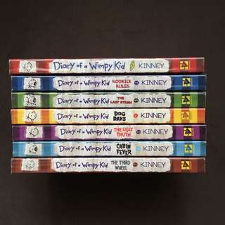 BOOKS FOR SALE (Diary of a Wimpy Kid Book 1-7)