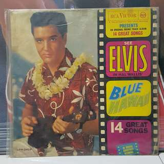 Vinyl Records Elvis Presley Blue Hawaii LPM-2426