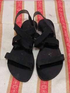 💕black strap sandals