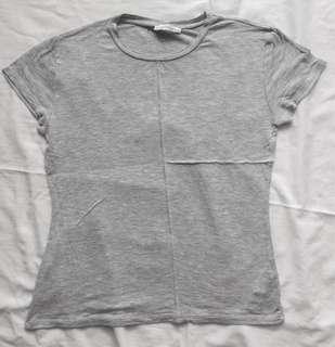 ZARA Basic Grey Shirt