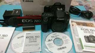 🚚 Canon EOS 70D