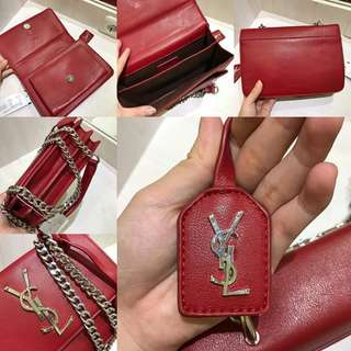 YSL SLING LARGE RED