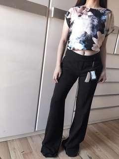 Auth Emporio Armani black trousers