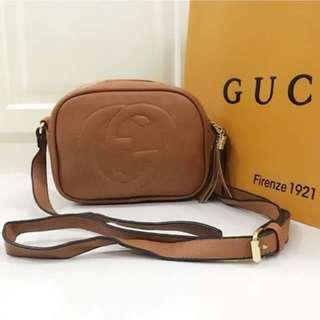 Ladies sling Class A Gucci bag