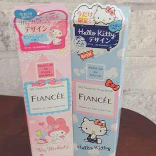 🚚 日本帶回 Fiancee香氛噴霧 kitty melody  選一瓶