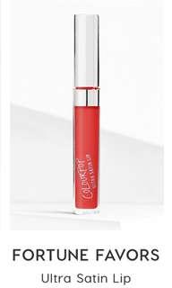 Colourpop ultra satin lip fortune favours