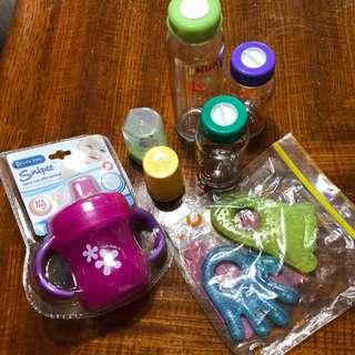 BN Baby Feeding Items Bundle (+ Used Bumbo)