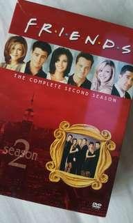 Friends DVD - Season 2 Boxset