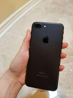 Unlocked iPhone 7 Plus 32GB • Matte Black