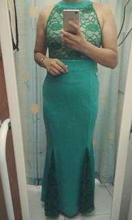 mermaid cut  formal gown
