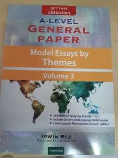 General Paper Model Essays Book