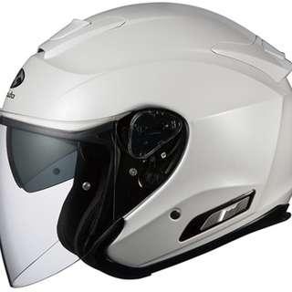 OGK ASAGI [Pearl White] Helmet