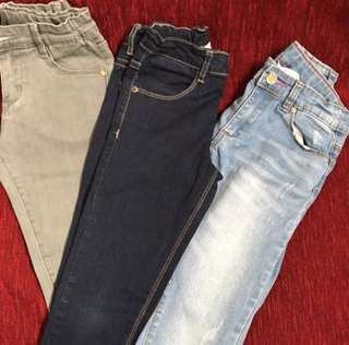 Denim pants for girl (7-8Y)