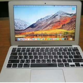 Macbook Air Mid2012 64gb ssd