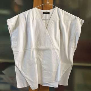 beatrice clothing white kimono top
