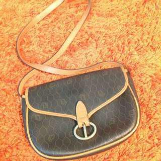 (REDUCED PRICE!!) Vintage Christian Dior Sling Bag