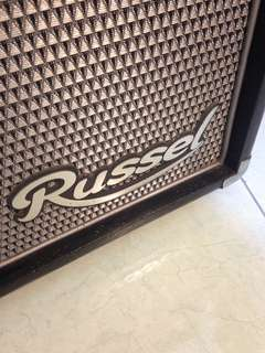 Bass amplifier Russel combo
