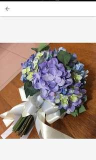 🚚 紫色捧花