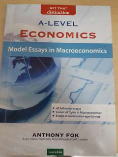 A level economics model essays (macroeconomics)
