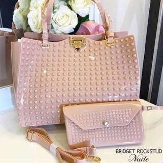 Bridget Rockstud Jelly Bag (Valentino inspired)