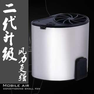 消暑神器挂腰強力風扇
