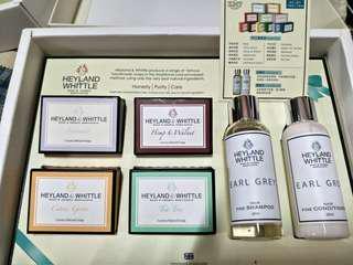 🚚 H&W英倫薇朵 典藏香氛沐浴禮盒-舞茶伯爵