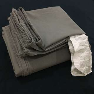 Ikea ANGSLILJA Queen Quilt Cover & Pillowcases