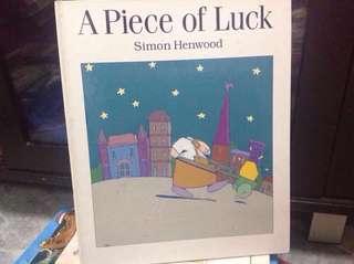 A piece of luck (hardcover)