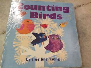 Counting birds (board book)