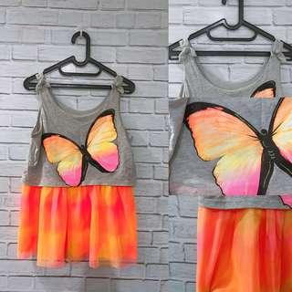 Butterfly Neon Top