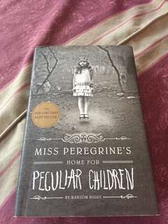 Ms Peregrine's Home for Peculiar Children HARDBOUND
