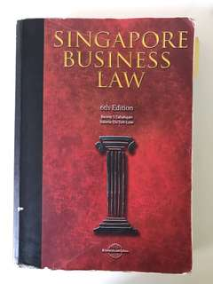 AB1301 Singapore Business Law Textbook