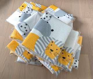 Diaper changing pad ( Made in Korea) can use as bed sheet cover