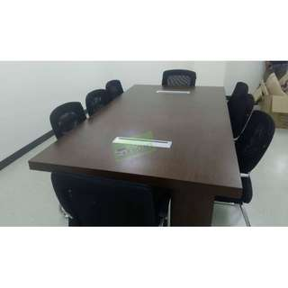 10 SEATER CONFERENCE TABLE WIRE MANAGEMENT--KHOMI