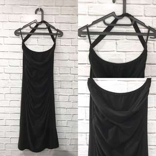 Backlesa Black Dress