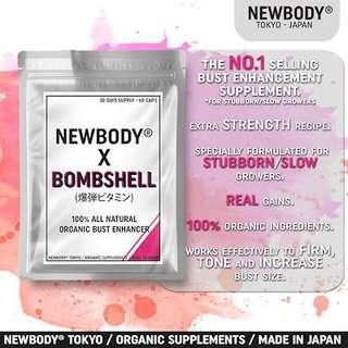 Newbody breast enhancement supplement pill