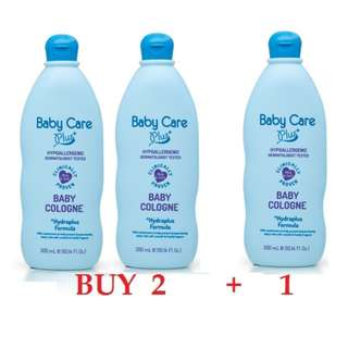 Tupperware Brand - Baby Care Plus+ Blue Baby COLOGNE 300ml - BUY 2+1