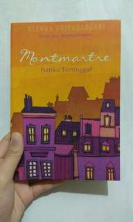 Novel Montmartre by Olenka Priyasadani